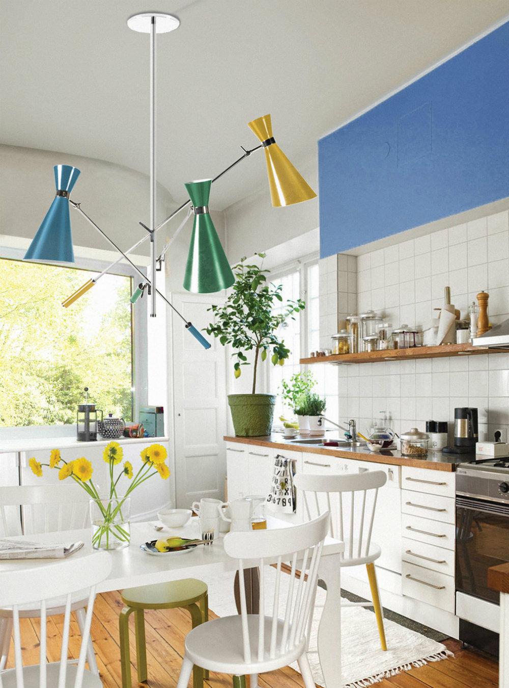 10 Kitchen Chandeliers to brighten up your Kitchen 04