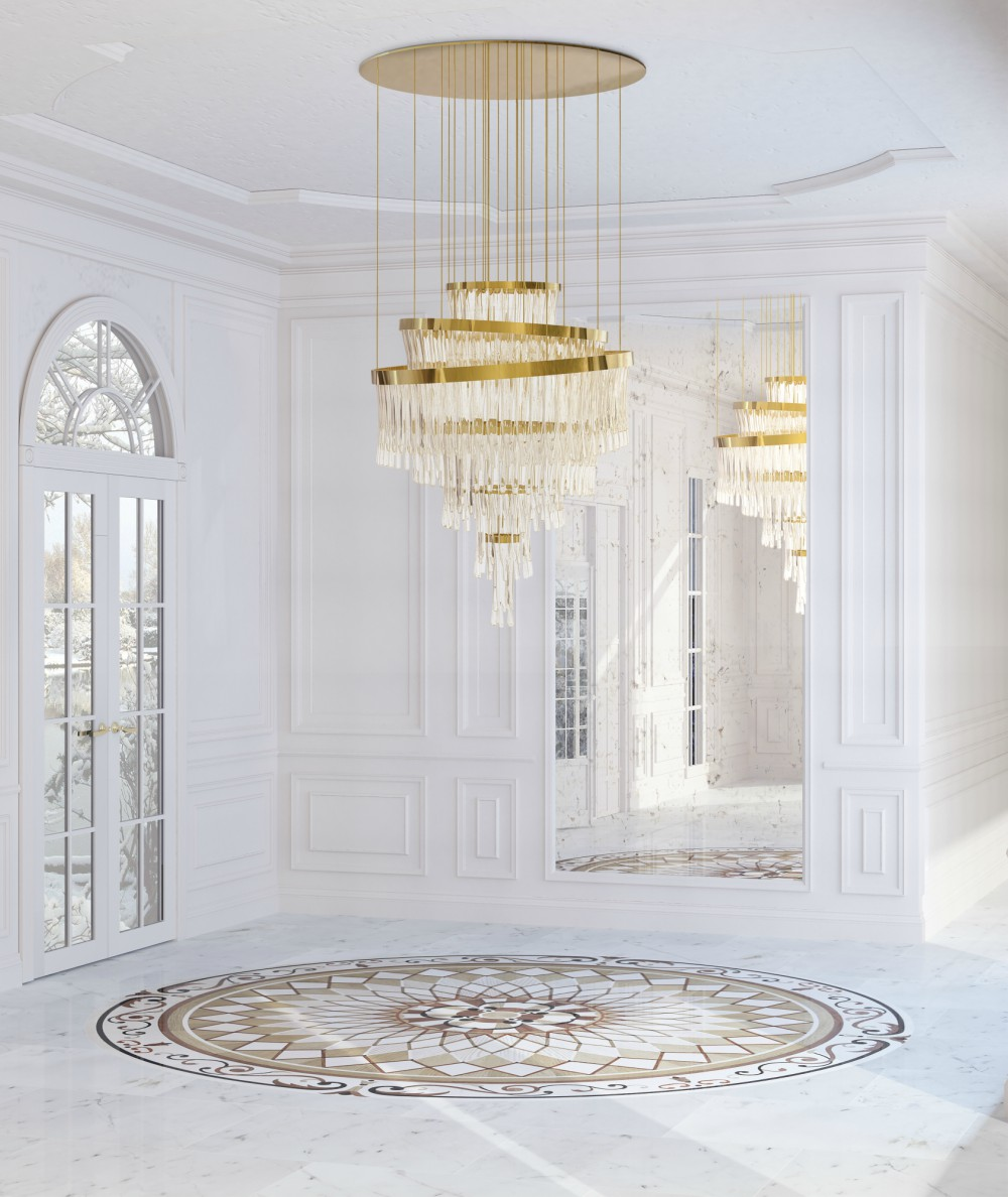 5 Gold Chandeliers for Every Room of The House 02