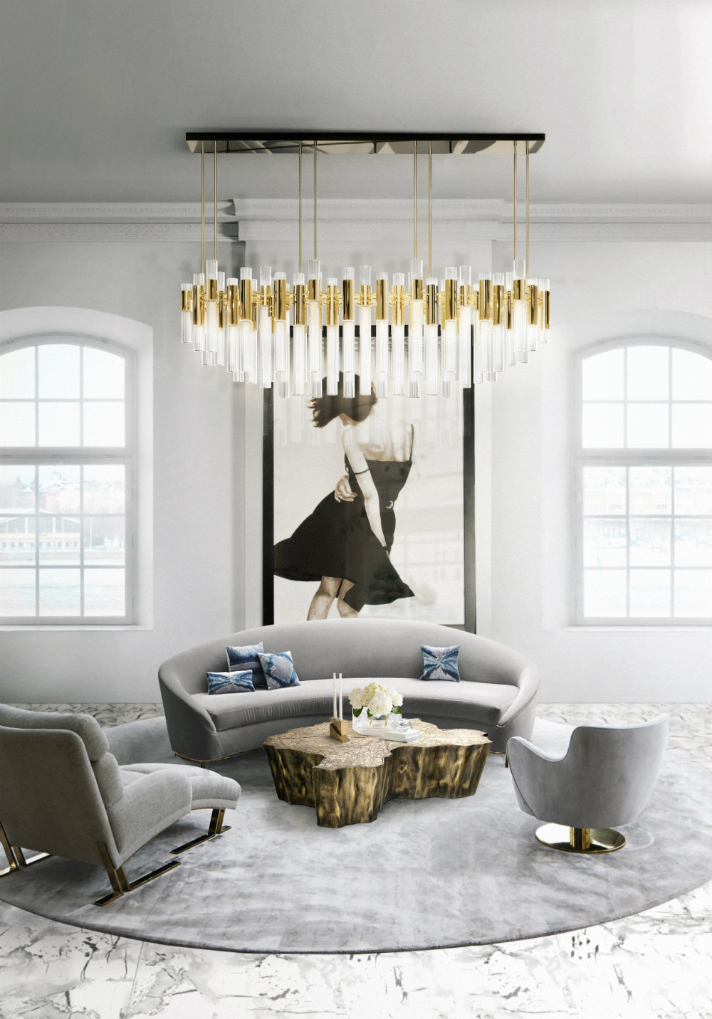 5 Gold Chandeliers for Every Room of The House 04