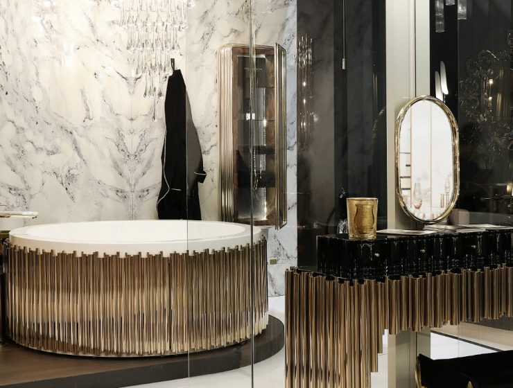 Astonishing Bathroom Chandeliers for a Luxury Bathroom 01