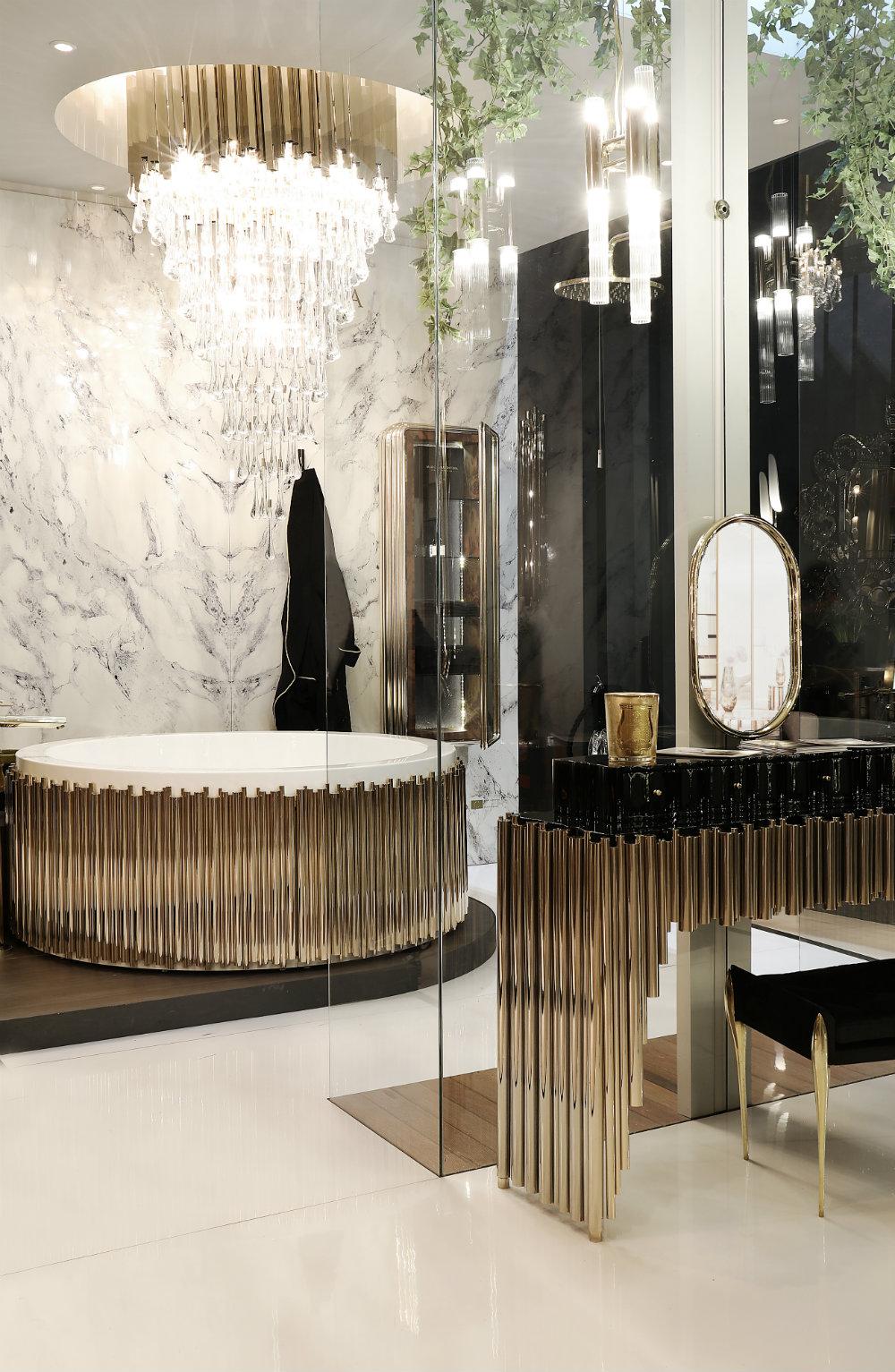 Astonishing Bathroom Chandeliers for a Luxury Bathroom 07