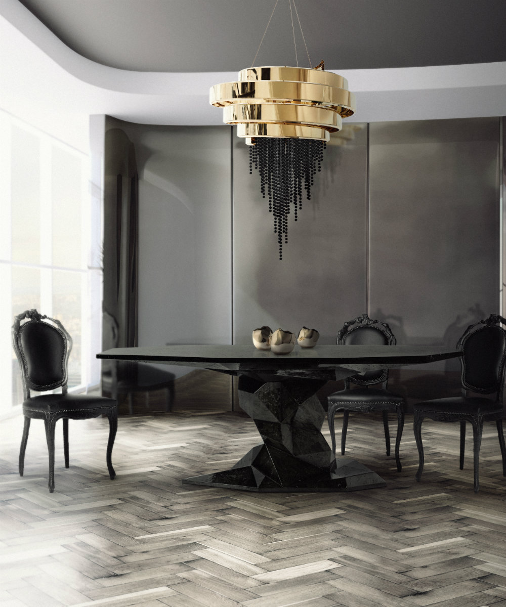 Black Chandeliers Perfect For The Darker Colors Lovers
