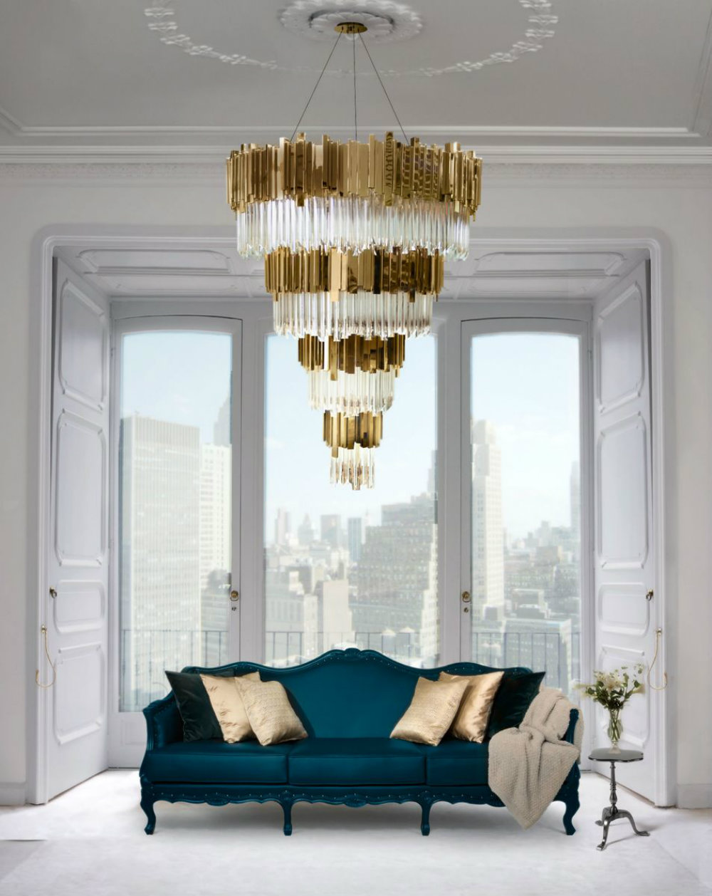 Elevate Your Living Room Decor With These Amazing Chandeliers