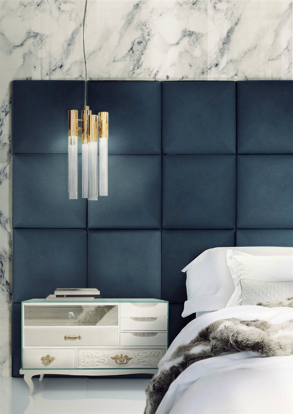 Light Up Your Bedroom With These 5 Modern Chandeliers