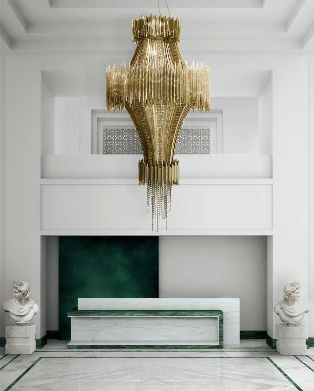 Modern Chandeliers For A Hotel Design