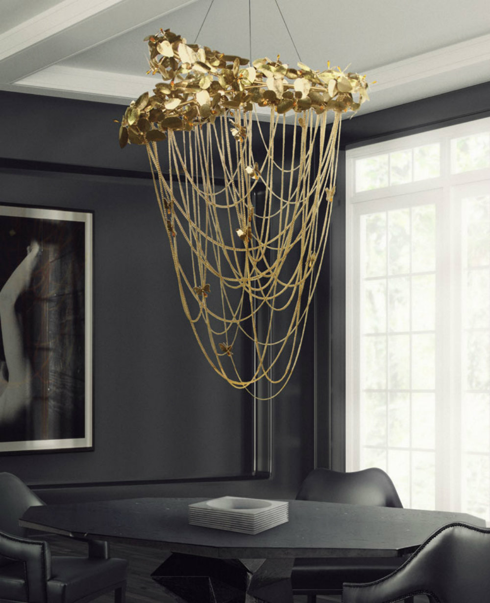 Modern Chandeliers Inspired By Flowers That Are Perfect For Spring