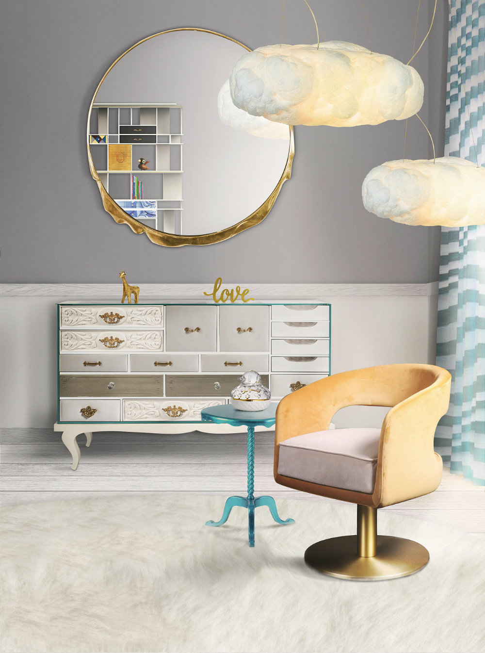 Upgrade Your Kids' Bedroom With These Ceiling Lamp Ideas