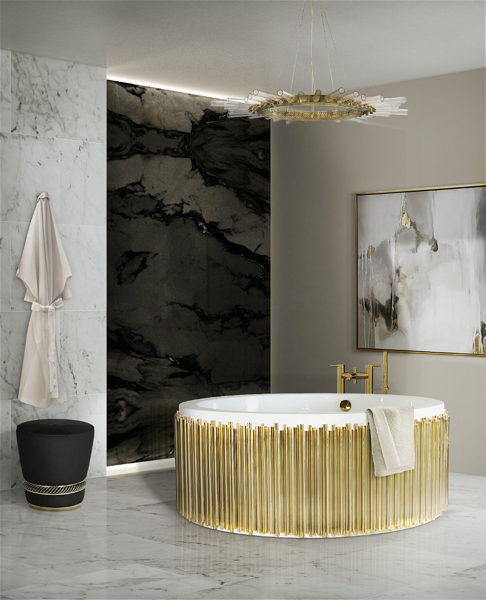 Stunning Chandeliers For Your Luxurious Bathroom