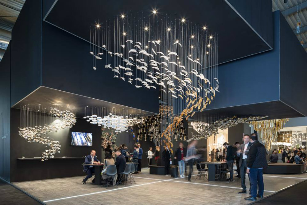 Euroluce 2019: Light Moments Collection By Sans Souci