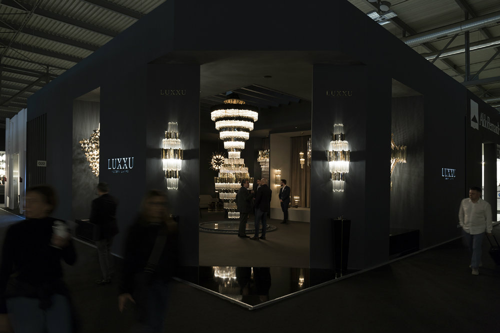 Euroluce 2019 Presents For The First Time XL Chandelier