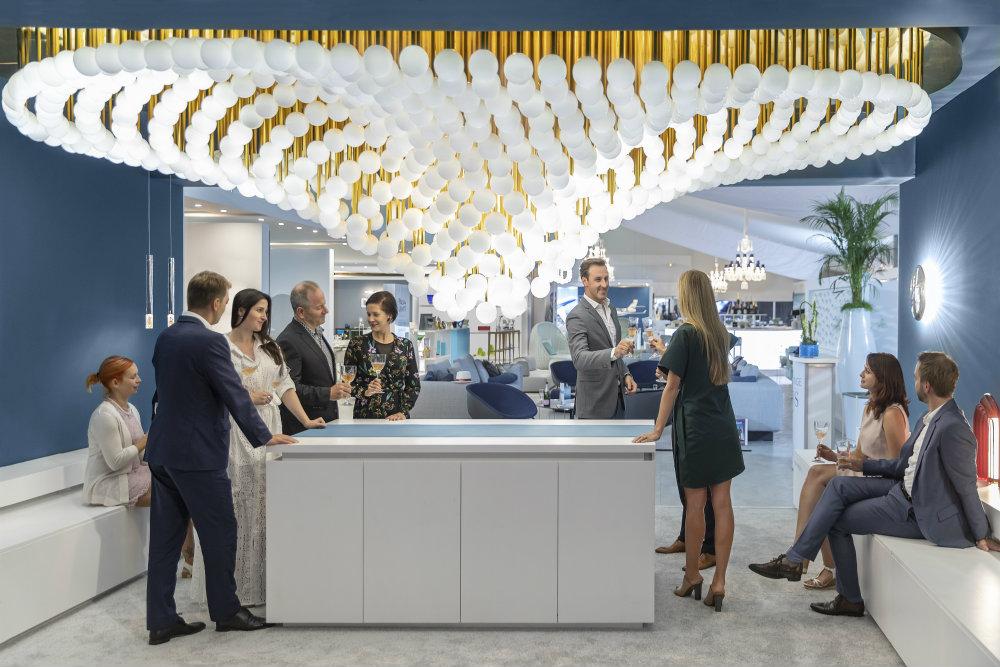 Preciosa Lighting: Amazing Lighting Design At Euroluce 2019