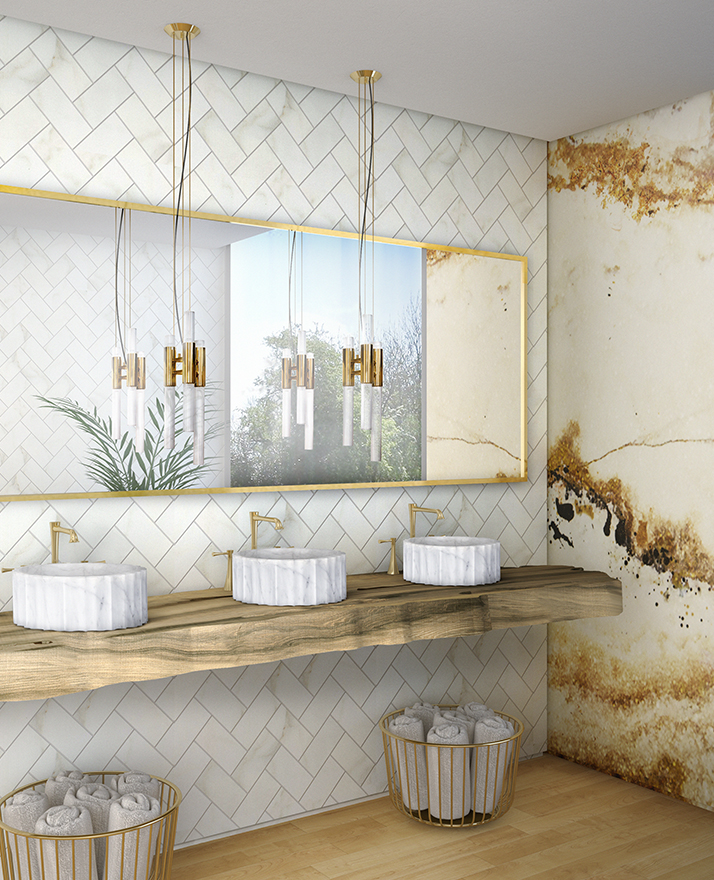 Nature Elements: Add a Fresh Touch To Your Bathroom