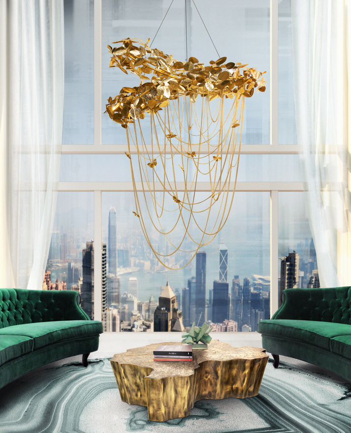 Summer Interior Design Trends: Luxury Chandeliers For Your Living Room