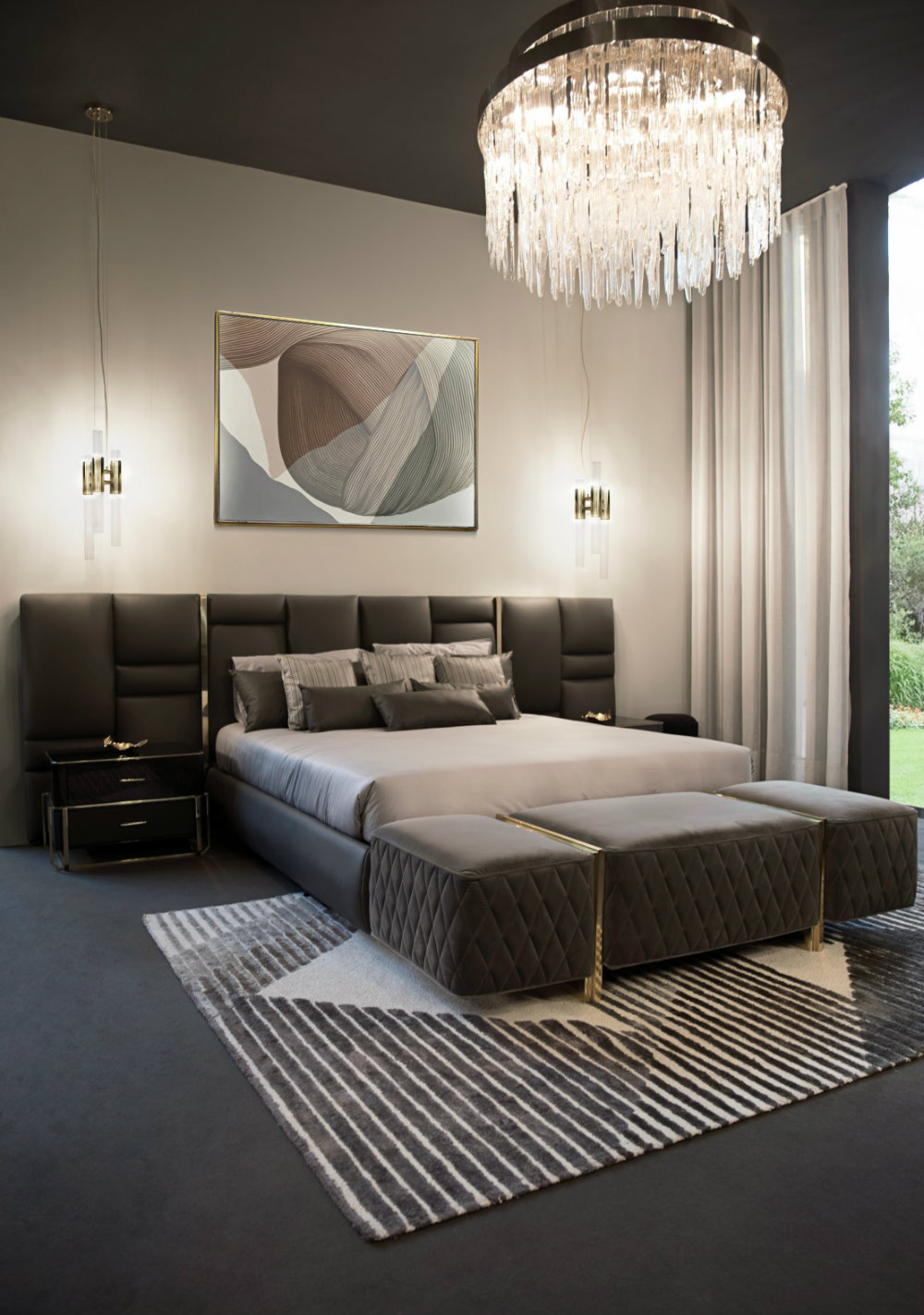 Bedroom Lighting Ideas To Set The Mood Modern Chandeliers