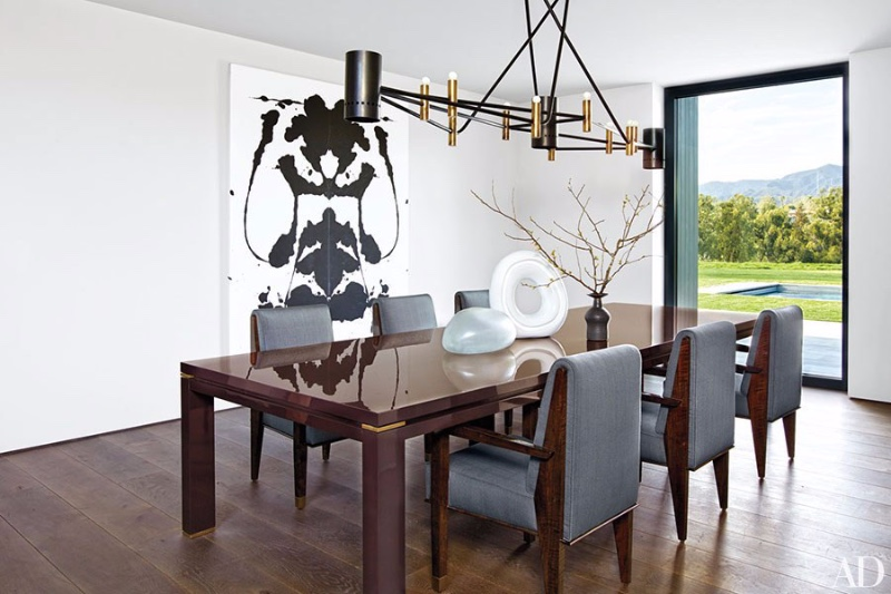Celebrity Dining Room Chandeliers You Need to See lighting inspiration
