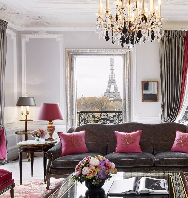Hotel Lighting Inspiration_ Meet the Hotel Plaza Athéné Eiffel Suite