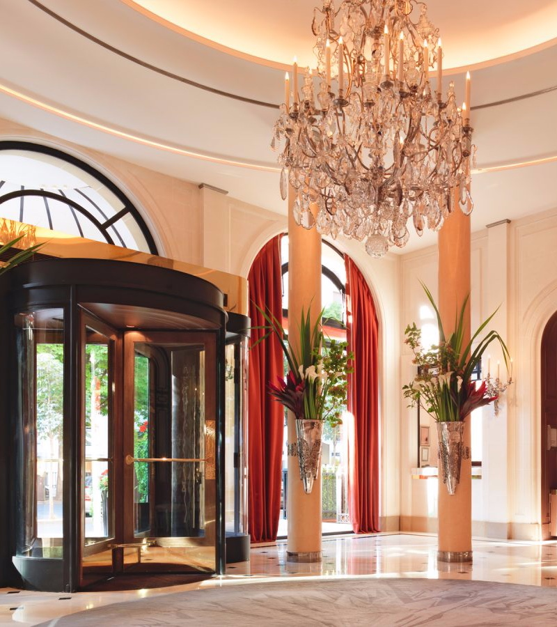 Hotel Lighting Inspiration_ Meet the Hotel Plaza Athéné Hotel Lighting Inspiration