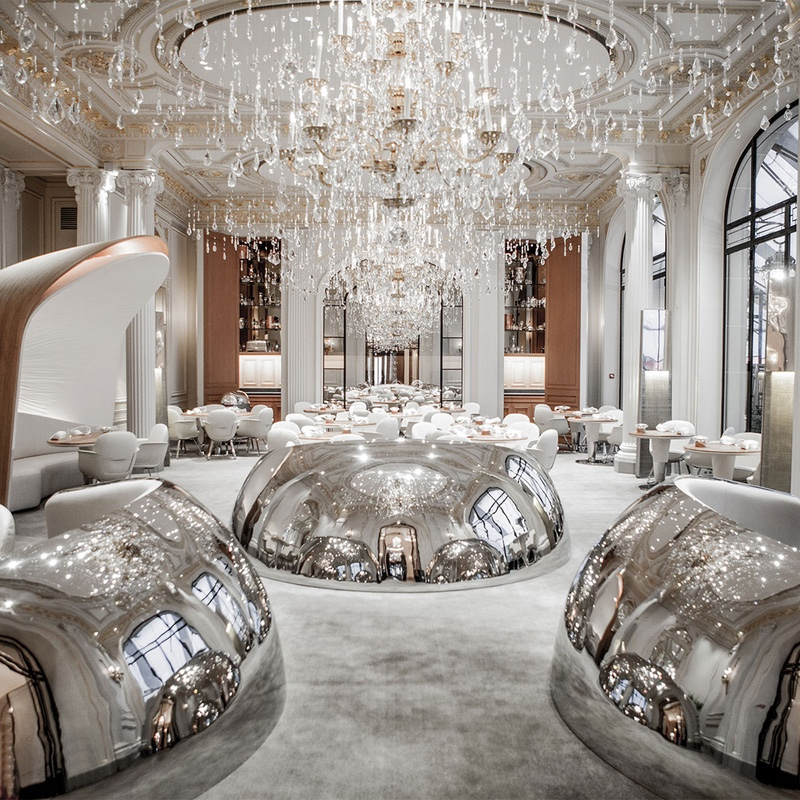 Hotel Lighting Inspiration_ Meet the Hotel Plaza Athéné luxurious hotel