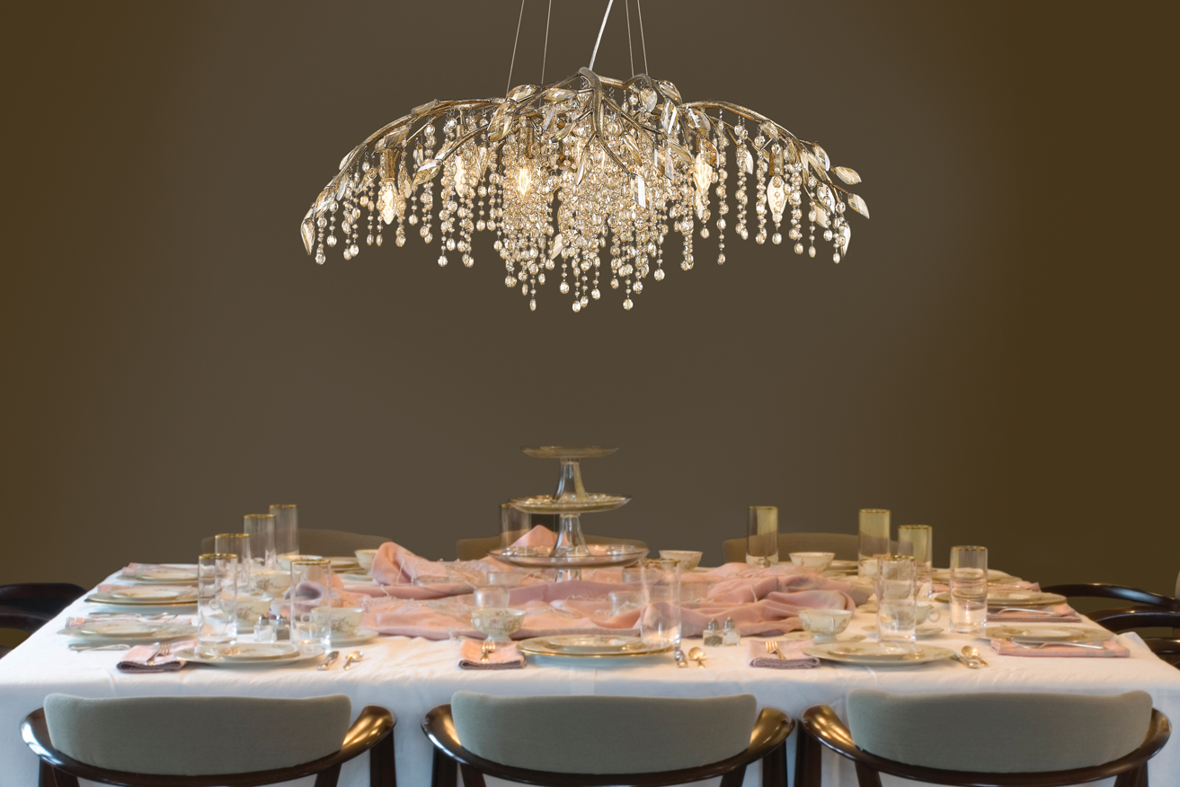 Prepare For Fall With These Amazing Selection Of Crystal Chandeliers