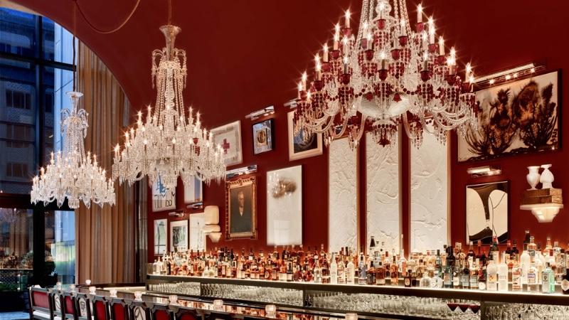 The Best Bar Lighting Design Ideas Baccarat Hotel, New York