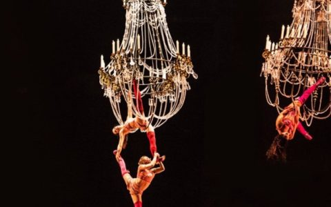 A Cirque du Soleil's Corteo_ A Spectacle Featuring Chandeliers lighting piece-2