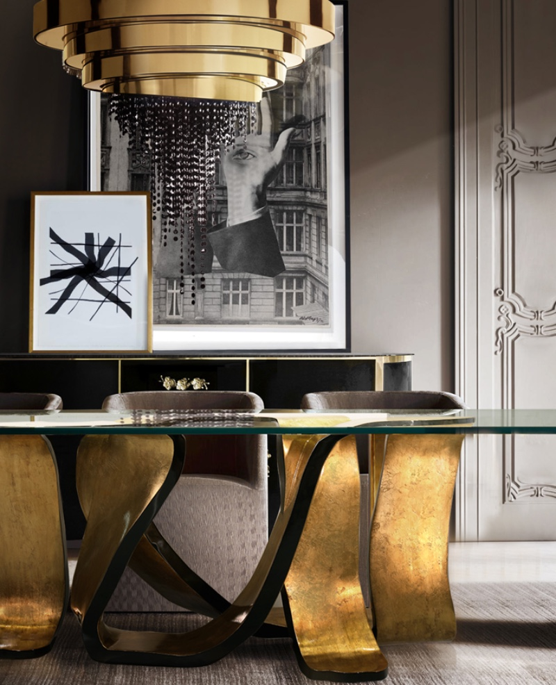 Amazing Chandeliers For Fall 2019 gold details