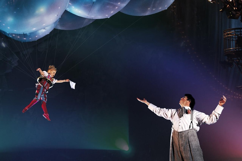 Cirque du Soleil's Corteo_ A Spectacle Featuring Chandeliers