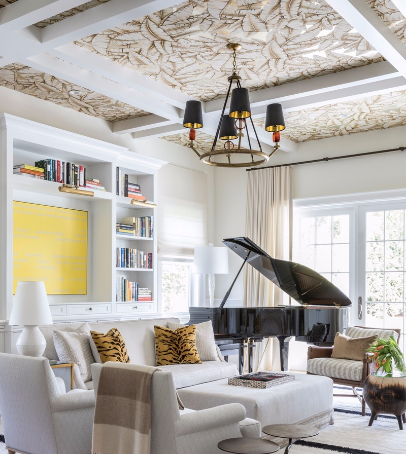 Getaway Lighting Inspiration_ A Project in the Hamptons Heracleum chandeliers,