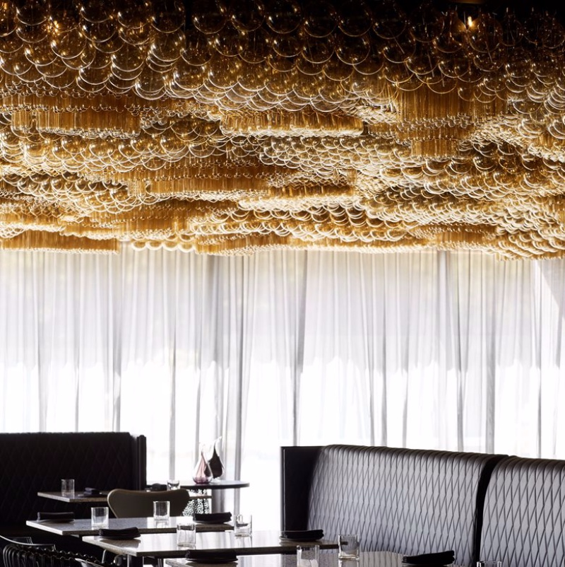 Restaurant Lighting Inspiration_ The Incredible Doot Doot Doot single lighting masterpiece,