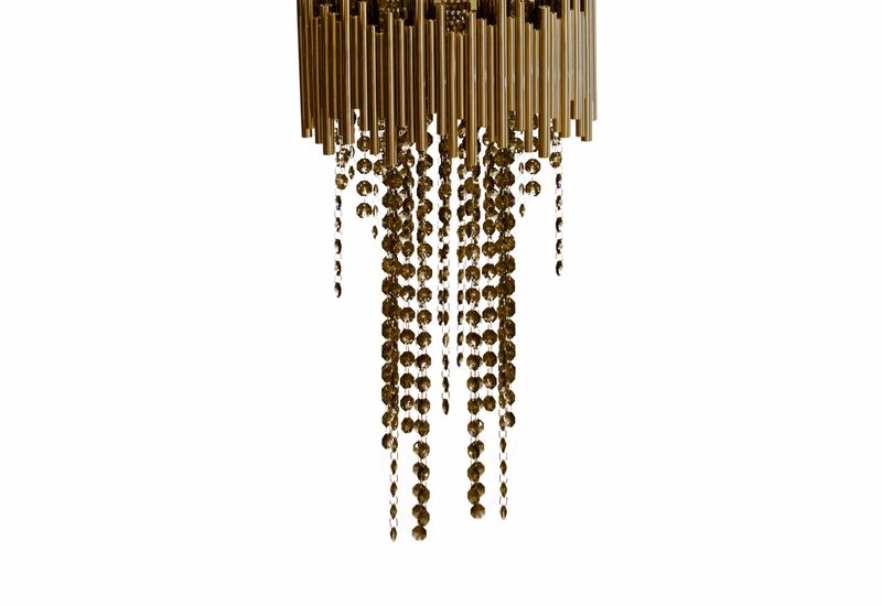 Statement Chandeliers To Elevate Your Luxury Home Swarovski crystals,