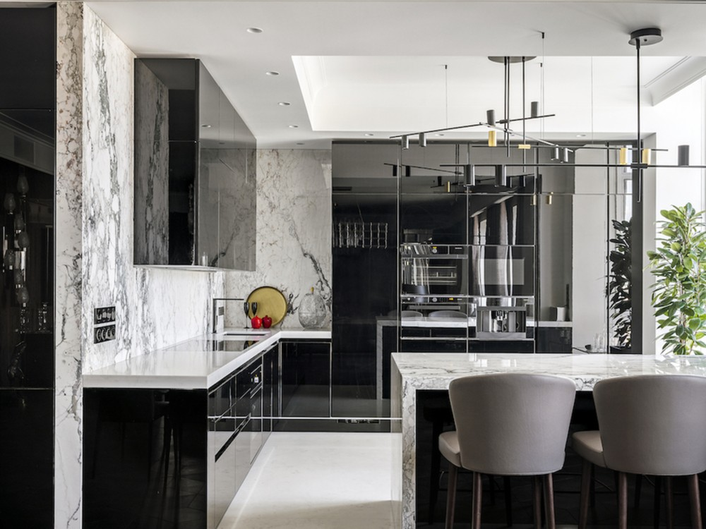 Stunning Interior Design Project In Moscow