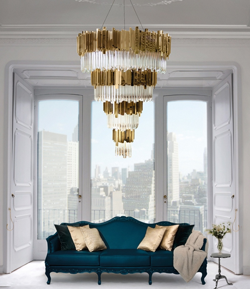 The Best Chandeliers For High Ceilings EMPIRE CHANDELIER