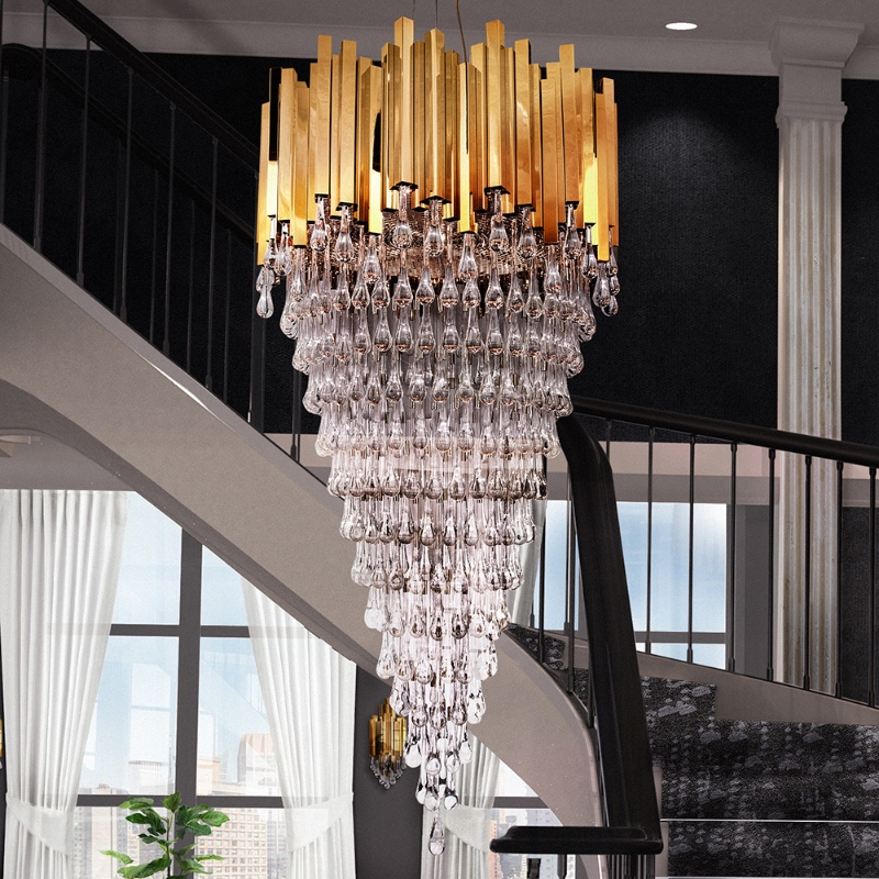 The Best Chandeliers For High Ceilings TRUMP CHANDELIER