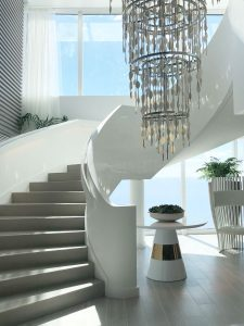 Lighting pieces from the work of Kelly Hoppen