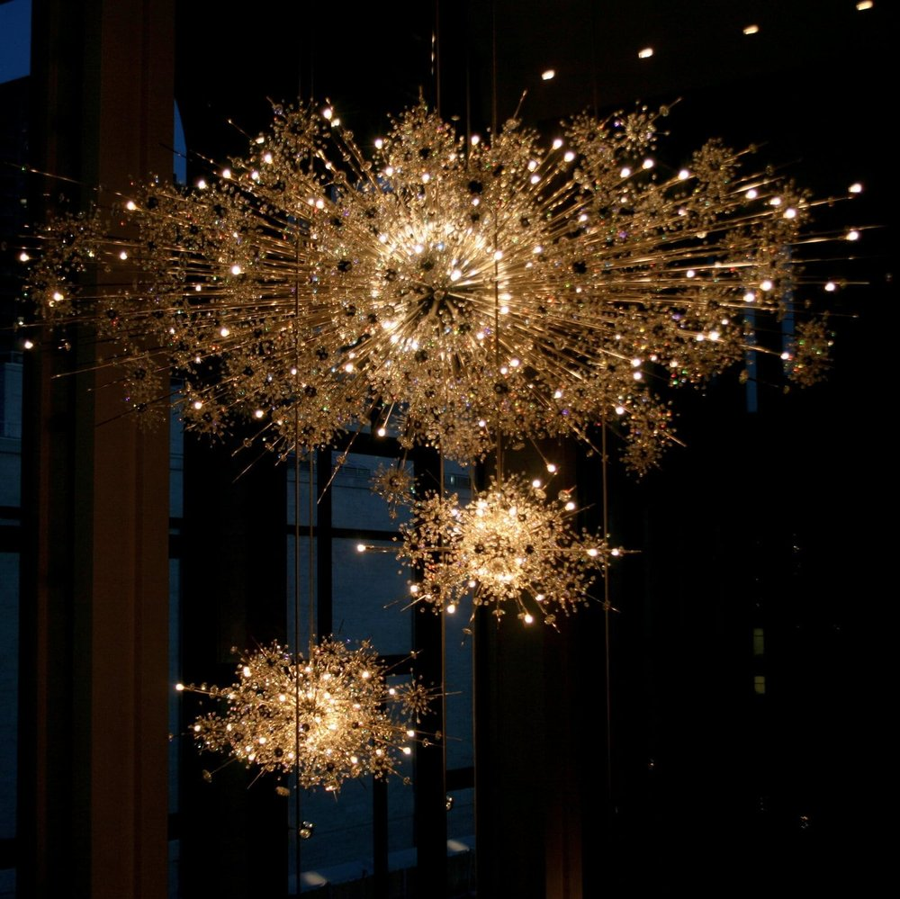 The Biggest Chandeliers In The World